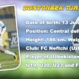『[山口] ウズベキスタン代表 DFドストンベック・トゥルスノフを完全移籍で獲得!!「みんなからはドストンと呼ばれています」』の画像