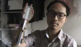 【パフォーマンス】  日本人が作った、飛ばしiphone装置の動画   海外の反応