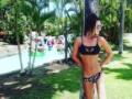 【悲報】ダレノガレ明美が水着の極細ビキニ姿を披露した結果wwwwwwwwwwwww(画像あり)