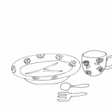 『「食器 Pアニメ4」』の画像