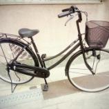 『リサイクル自転車 27インチ軽快車』の画像