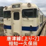 『唐津線 車窓[上り・2]相知→久保田』の画像