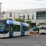 『富山地方鉄道 0600形 ポートラム①』の画像