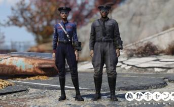 警察の服と帽子一覧