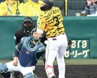阪神-ヤクルトが警告試合に 八回 大山に死球 両軍計3死球で不穏な空気が漂う