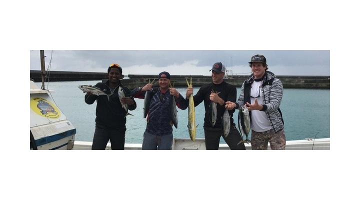 【 画像あり 】マシソンのTwitterのホーム画像がマシソン・マイコラス・カミネロ・マギーで釣りに行ったやつになってて、ほのぼのw