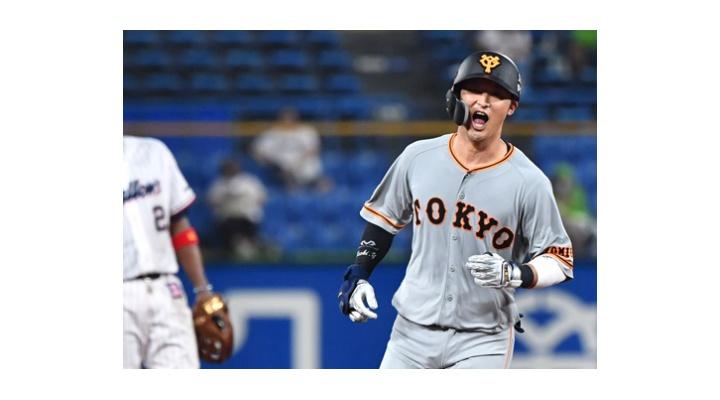 巨人・吉川尚輝  .257  6本塁打  10打点  OPS.876 ← 12球団二塁手OPS1位!