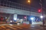 第二京阪国道高架下で『アスファルト整備工事』やってた!