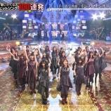 『【乃木坂46】テレ東音楽祭『インフルエンサー』披露時に後ろで超ノリノリだった男性アイドルがいた模様wwwwww』の画像