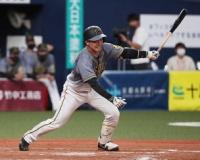 同点適時打の阪神・山本 「少ない打席の中で結果を出していかないと」