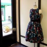 『店頭タックベルト切替プリーツドレスが完成しました』の画像