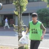 『今日は10日 「市役所南通りの景観と文化を育む会」の清掃日でした』の画像
