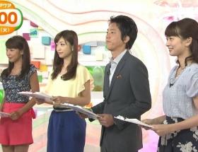 【画像】めざましテレビアクアの岡副麻希アナ(22)が今週も黒すぎる件