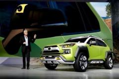 トヨタ、SUVコンセプト「FT-AC」公開 幅広タイヤでオフロードに自信