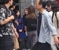 【欅坂46】北千住でけやかけロケ?バレンタインのお返しの掃除機とか買いに来たのかな?