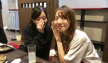 【乃木坂46】ひめたんからご飯3杯はいける琴子と愛未ちゃん先輩の2ショット!
