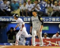 阪神・岩田、復帰も4失点「何とか抑えたかったんですけど…」