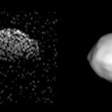 『小惑星のニアミスと軌道修正』の画像