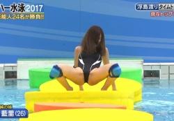 有村架純ちゃんの姉・藍里がハイレグ競泳水着でM字開脚!セミヌード写真集も大ベストセラー!