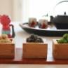 節分のおやつ「やわらか3色福豆」と恵方巻き練習