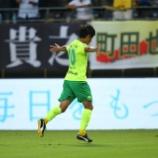 『ジェフ千葉 新潟戦にて負傷のMF町田也真人 左肩関節脱臼で全治3カ月と診断 手術を行ったと発表』の画像