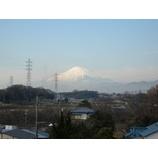 『パソコン修理 下田商会から見える富士山です。』の画像