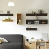 『狭い部屋を広く見せる、「壁収納」集めました! 【インテリアまとめ・リビング 狭い 】』の画像