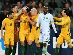 【 W杯アジア最終予選B組 】オーストラリアがサウジアラビアに勝利し、日本代表もますます気の抜けない混戦状態に・・・