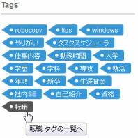 『【livedoorブログ】cssでタグクラウドのデザインをカスタマイズしてみる』の画像