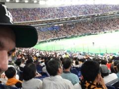 【 画像 】ハーフナー・マイク、巨人の10連敗を観戦するwww