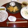【ランチレポート】6/27 桜えびのかき揚げ by 庭山シェフ