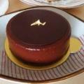 アカシエ@浦和仲町にて特注のバスデーケーキ