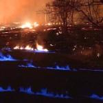 【動画】米ハワイ、噴火が続くキラウエア火山、ついに地面から青い炎まで噴き出す! [海外]