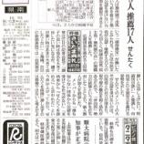 『(読売新聞)公認5人 推薦17人 せんたく』の画像