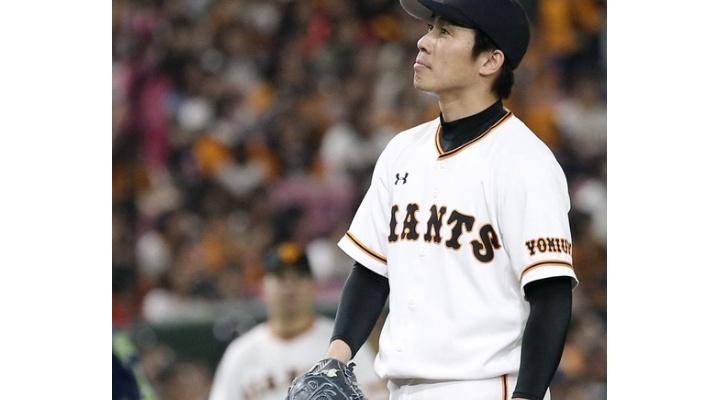 巨人・吉川光夫  8試合登板  6.1回  0勝1敗  防御率9.95