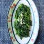 感謝祭の野菜料理1品(ほうれん草)