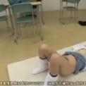 かわいいロリ系女子高生を教室で中出し!「 麻里梨夏」JKに対して複数の男達が教室で次次に生挿入正常位で激しく入れられ喘ぎ感じまくり!ルーズソックス美少女に連続中出し