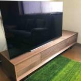 『高松市にセミオーダーしたTVボード・ルークを納品』の画像