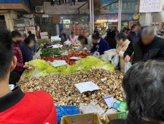 【中国】生鮮市場が楽しそうだった