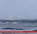 【豪華客船】ノルウェー沖で航行不能=1300人、ヘリで救助