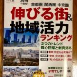 『首都圏「伸びる街」6位に戸田市 週刊ダイヤモンド別冊「伸びる街&地域活力ランキング」』の画像