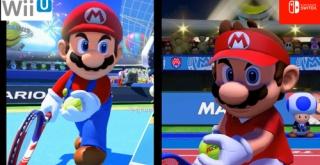 Switch『マリオテニスエース』とWii U『ウルトラスマッシュ』のグラフィック比較映像が公開!