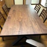 『三豊市にイマダ・リスタテーブルにシギヤマ・ウォールライフチェアをセットして納品』の画像