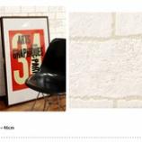 『レンガ調の壁紙』の画像