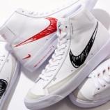 """『4/15 9:00オンライン発売開始 Nike Blazer Mid VNTG '77 """"Sketch Pack"""" CW7580-100 CW7580-101』の画像"""