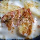『ベーコン・ポテトグラタン(今日の昼食)』の画像