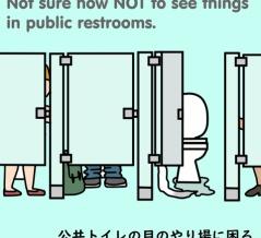 アメリカあるある~トイレ1