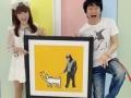 """かつみ・さゆり、所有するバンクシーの絵が4500万円に 30年ぶりの""""借金のない生活""""は来るか?"""