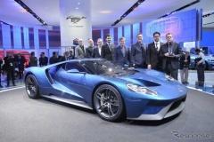 フォード GT 新型、市販車の最優秀デザイン賞を受賞!