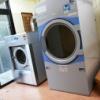 ベッドと洗濯機・乾燥機